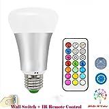 Lennystone® 10W Led RGB Light Bulbs