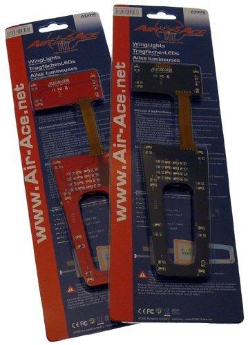 Preisvergleich Produktbild AA3107 - ACME - Zubehör AirAce III - WingLights rot