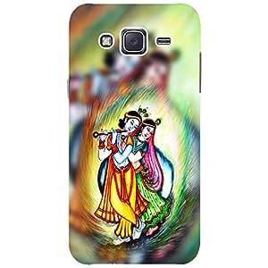 Radha krishanna 2 - Mobile Back Case Cover For Samsung Galaxy J3 (2016)