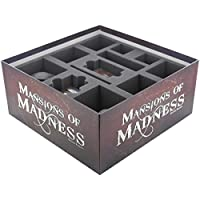 Foam trays for Mansions of Madness Boardgame box – Core Game and Expansions
