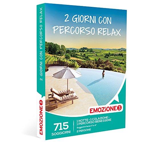 Emozione3 - cofanetto regalo - 2 giorni con percorso relax - 715 soggiorni benessere in hotel 3 e 4 stelle