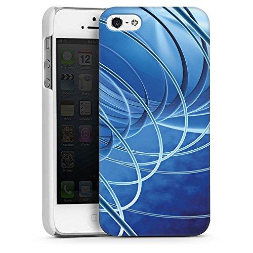 Apple iPhone 6 Housse Étui Silicone Coque Protection Cercles Anneaux Motif CasDur blanc