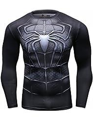 Cody Lundin Mode Sport à manches longues de Superhero Movie caractères parti chemise extérieure mâle masculine