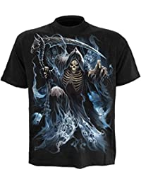 Spiral Men - Ghost Reaper - T-Shirt Black