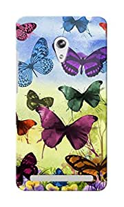 CimaCase Butterflies Designer 3D Printed Case Cover For Asus Zenfone 5