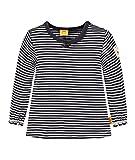 Steiff Mädchen T-Shirt 1/1 Arm, Blau (Marine 3032),80