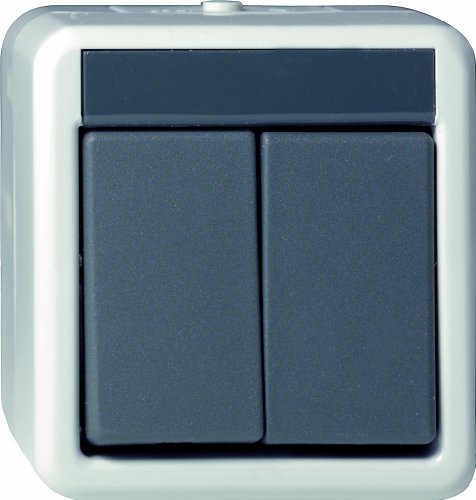 Gira 015530 Serientaster WG AP grau