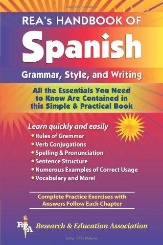 Spanish Handbook Grammar, Stle, Writ Pb (Language Learning) por Craig