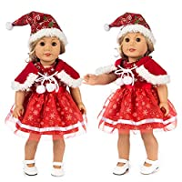 Amyline Chirstmas Toy Clothes Dress Hat, doll cloths Hat For 18 Inch American Boy Doll Accessory Girl Toy