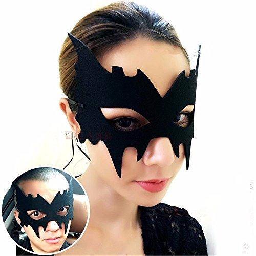 Maskerade Maske Halloween Weihnachten und Kostüm Party Maske Partei Tanzmaske männliche und weibliche Maske, B