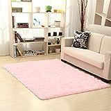 KYDJ Rechteck Farbe Non-woven Einfache Teppich Sofa im Wohnzimmer Schlafzimmer Bett Teppich (Farbe: 9, Größe: 1 m x 2 m)