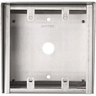 Aiphone Corporation SBX-2G Surface Mount Box, 18 AWG Stainless Steel