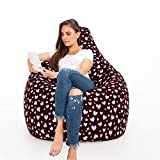 Urban Gifts Classic Cotton Canvas Digital Printed Bean Bag XXXL Size Without Beans