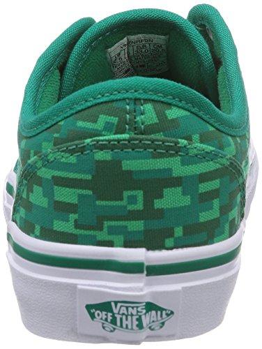 Vans - Sneaker Y ATWOOD (SUEDE) PACIFIC, Unisex - bambino Grün ((Digi Earth) gr FDN)