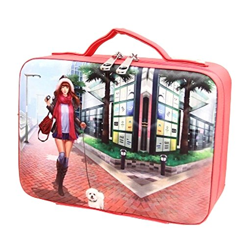 Waterproof Fashion Bag Cosmetic Pouches Maquillage Sac, E