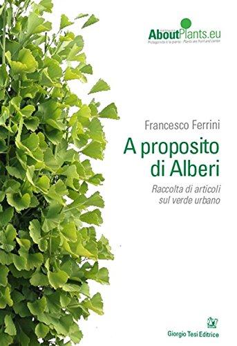 A proposito di alberi por Francesco Ferrini