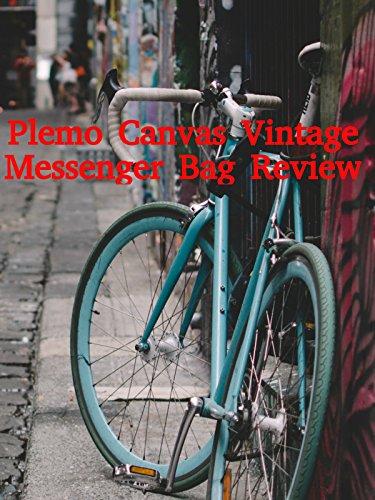 Review: Plemo Canvas Vintage Messenger Bag Review [OV]