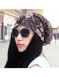 ERLINGSAN-MZ Sombrero Mujer De Primavera Verano De Malla Capucha Gorra  Transpirable Montón Cap Delgado 7dd1a779b99