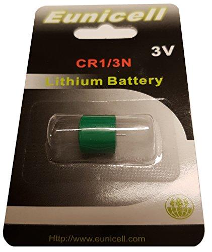 Eunicell 4 x CR1/3N Lithium Batterie 3 V EINWEG 3n Lithium-batterie