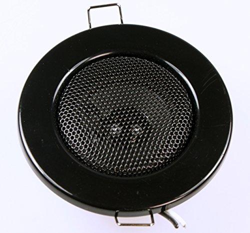 2Pieza empotrable Altavoz Altavoz de Techo Altavoz Mini Negro