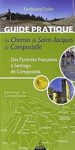 Pyrenees Michelin - Guide pratique du chemin de Saint-Jacques de