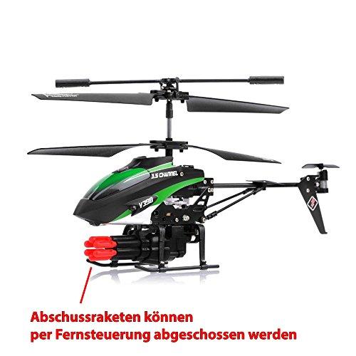 RC Modellbau-Hubschrauber mit Schussfunktion - 2