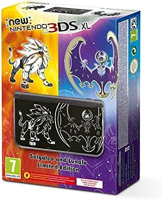 New Nintendo 3DS XL Solgaleo e Lunala - Limited Edition [Importación Italiana] (No Incluye el juego)