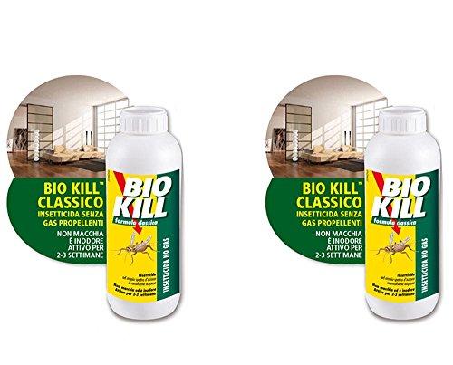 Bio Kill 2 boîtes d'un litre de Biokill Insecticide offre spéciale
