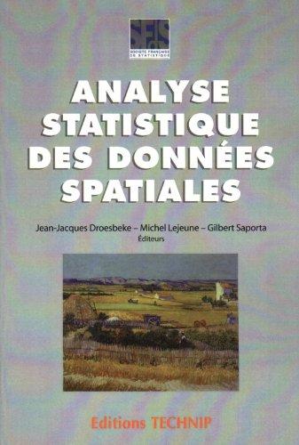 Analyse statistique des données spatiales