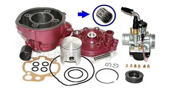 Unbranded 50 Zylinder KIT 40,3mm KOLBEN DICHTUNGEN Kopf Set f/ür Aprilia RS 50 EXTREMA AM6 Zylinderkit