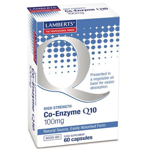 Lamberts Plus Coenzym Q10 100Mg 60Cap (Coq10 Von Natur Aus 100mg)