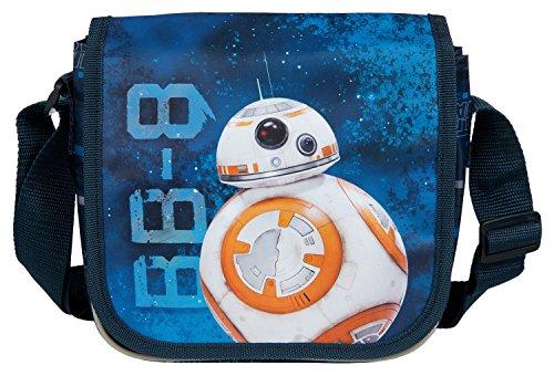 Under cover per asilo, Star Wars, circa 21x 22x 8cm borsone sportivo per bambini, 22cm, Blu