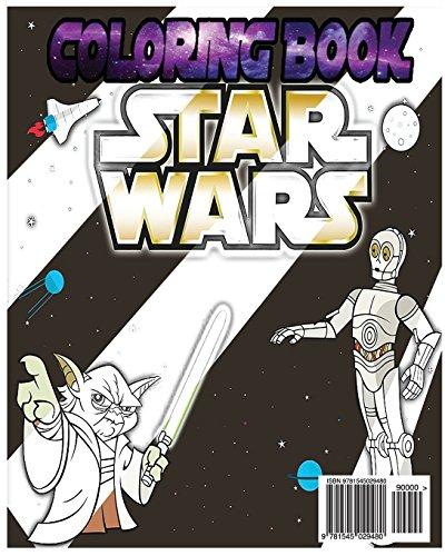 Image of Star War Coloring Book: Star war Coloring Book Paint Jedi Yoda Dark Vador