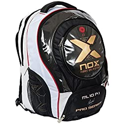Nox Ml10 Pro P.1 - Mochila, color blanco, talla única