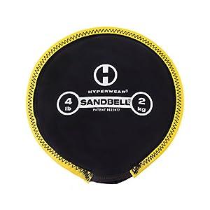 Hyperwear Sandbell Sandsack Training frei Gewicht (,) 4Pfund