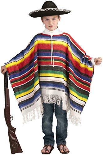 Forum Neuheiten Kinder Kostüm - Forum Neuheiten 65699F Childs mexikanischen Poncho Kost-m