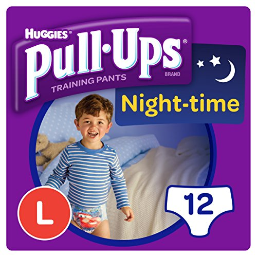 Huggies Pull-Ups Night Time Large Potty Training Pants for Boys