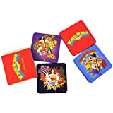 "Wonder Woman ""Pow"" Coaster Set (4 Coasters)"