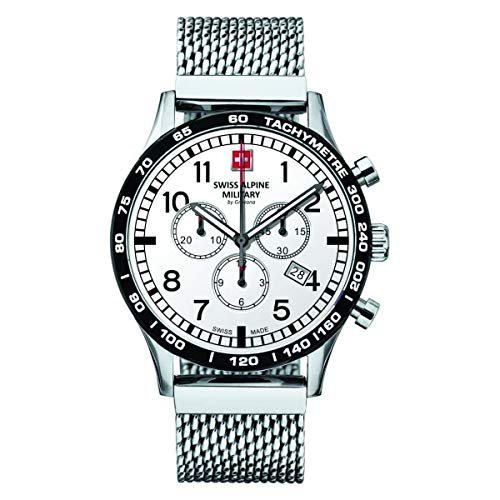 Swiss Alpine Military Herren Uhr Chrono 1746.9132SAM Edelstahl