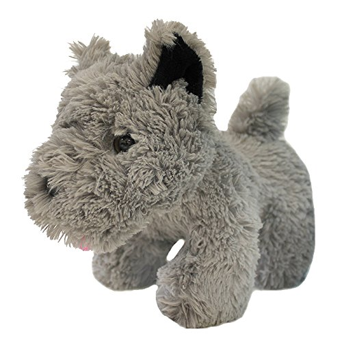 KANSAS GIRL CUTE DOG FANCY DRESS ACCESSORY - GREY TERRIER PLUSH TOY DOG TOY TOTO FANCY DRESS ACCESSORY - PERFECT FOR BOOK WEEK OR FILM/MUSICAL FANCY DRESS COSTUMES