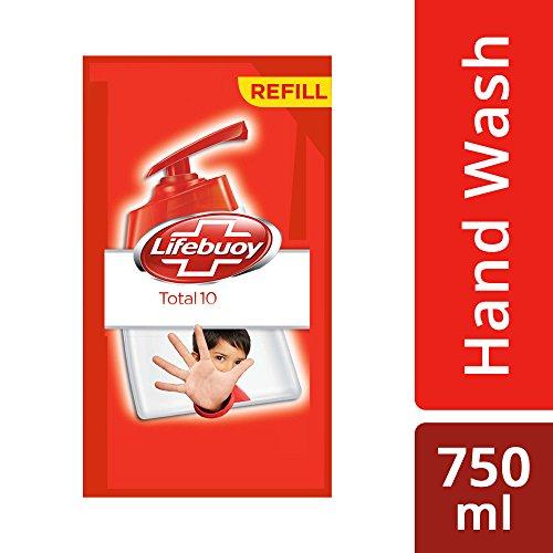 Lifebuoy Total 10 Active Silver Formula Hand Wash 750 ml 4+months value pack