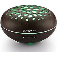 Alfawise Aroma Diffuser Luftbefeuchter Wohnung 400ml Tragbarer Luftbefeuchter Kühle Nebel für gute Laune und Schlaf... preisvergleich bei billige-tabletten.eu