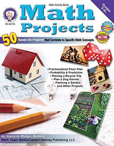 Math Projects, Grades 5 - 12