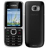 Nokia C2-01 schwarz silber edition (Ohne Vertrag Ohne Simock) EU Ware