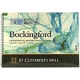 Bokingford Wc espiral de 140 libras Cp 10X14 Blanca