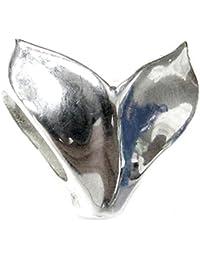 Queenberry broche de plata de ley de cola de Ballena de cuentas de la Paz para Barney Chamilia Pandora pulseras de seguridad europeo Story para pulsera Biagi
