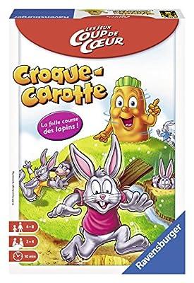 Ravensburger 22324 - Jeu De Voyage - Croque Carotte