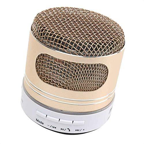 Ben-gi Bunte A9D LED-Beleuchtung drahtlose Bluetooth Lautsprecher-Enhanced Bass Voice Call FM Radio USB/TF/Audio-Eingang (Fm-radio-basslautsprecher)