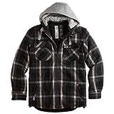 Surplus Herren Jacke Lumberjack Jacket 20-3525, Größe:S;Farbe:Black (20-3525)