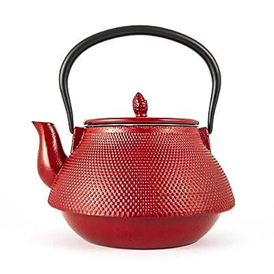 Sens Original - Théière fonte samouraï 1.9 litre - rouge - 1.9l